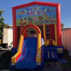 combo slide happy birthday