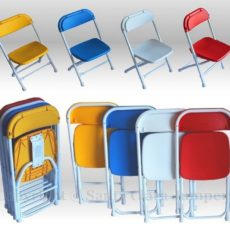 multicolored kids chairs